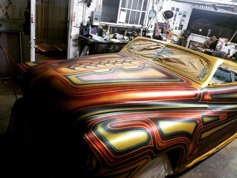 auto's crazy paint - peinture de fou sur carrosseries 14462812