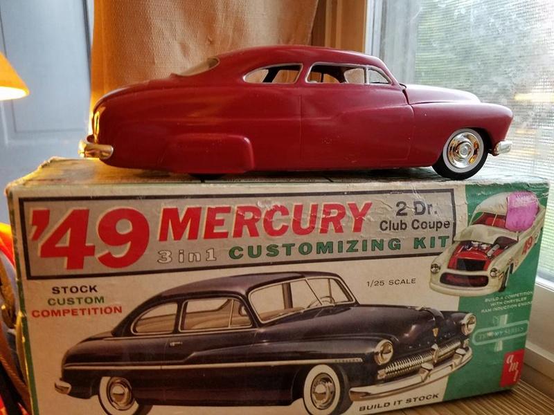 Vintage built automobile model kit survivor - Hot rod et Custom car maquettes montées anciennes - Page 6 14463011