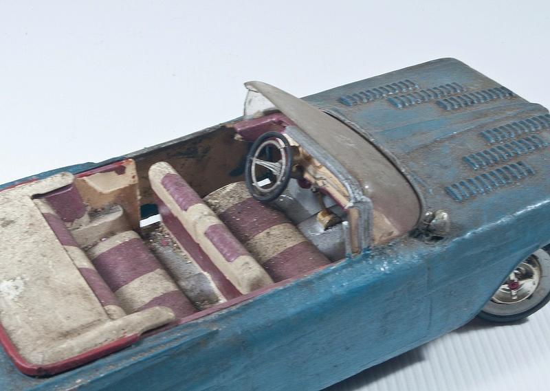Vintage built automobile model kit survivor - Hot rod et Custom car maquettes montées anciennes - Page 6 14468510