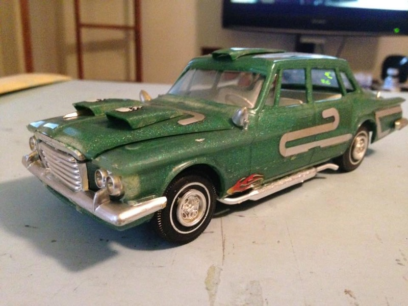 Vintage built automobile model kit survivor - Hot rod et Custom car maquettes montées anciennes - Page 6 14517510