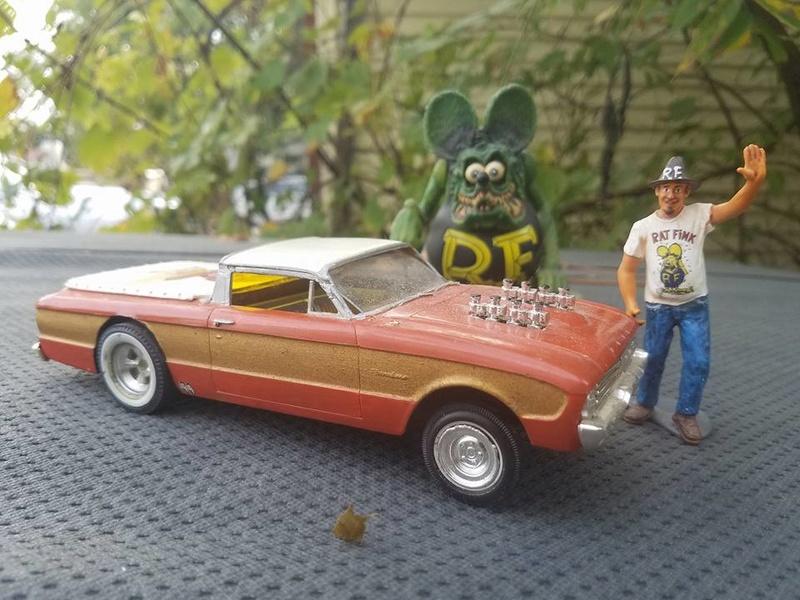 Vintage built automobile model kit survivor - Hot rod et Custom car maquettes montées anciennes - Page 6 14572912