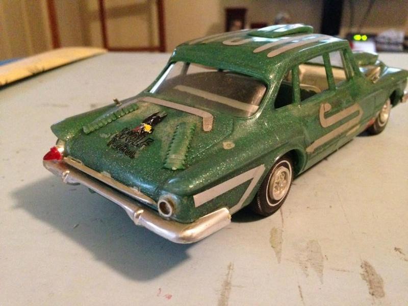 Vintage built automobile model kit survivor - Hot rod et Custom car maquettes montées anciennes - Page 6 14590210