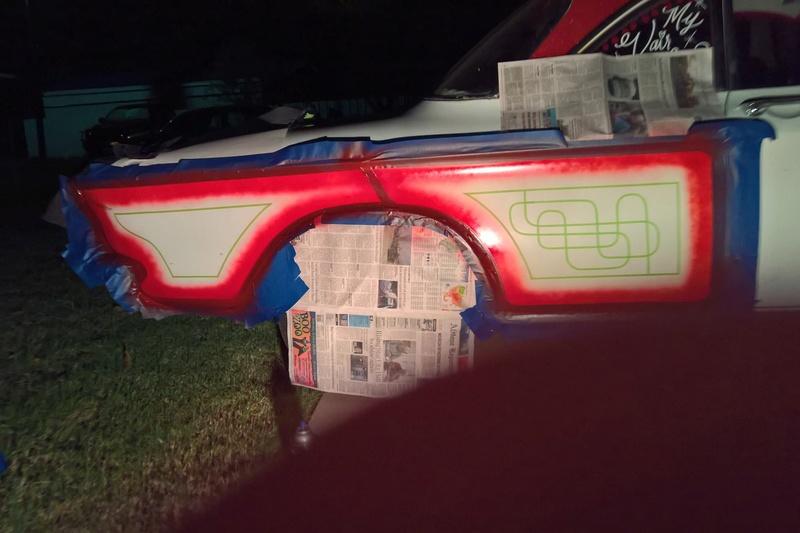 auto's crazy paint - peinture de fou sur carrosseries 14680810