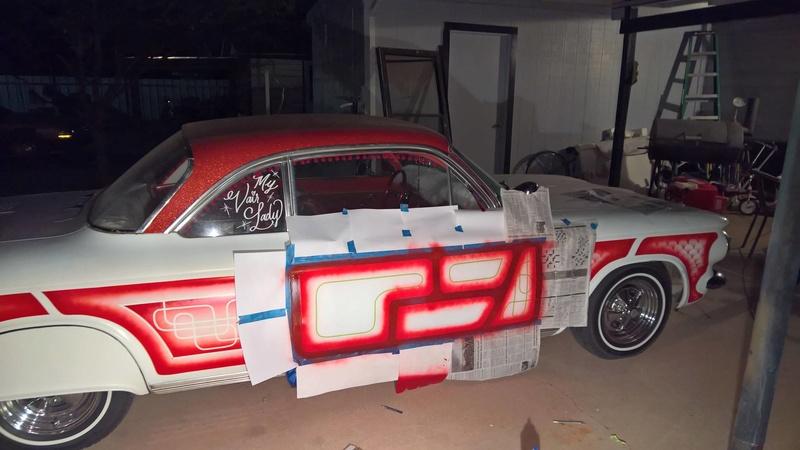 auto's crazy paint - peinture de fou sur carrosseries 14692110