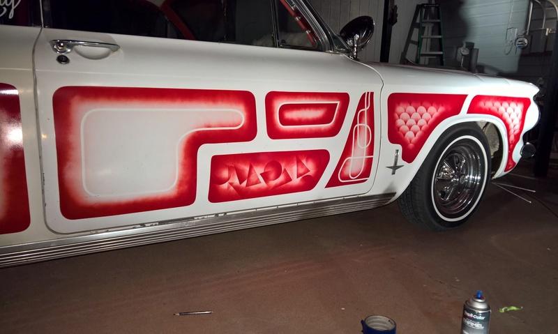 auto's crazy paint - peinture de fou sur carrosseries 14700810