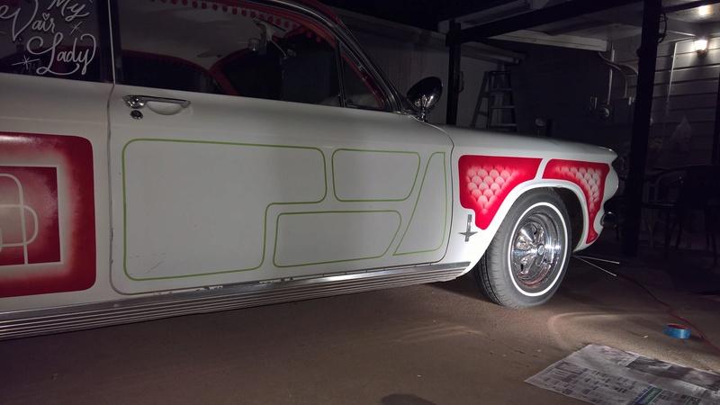 auto's crazy paint - peinture de fou sur carrosseries 14706810
