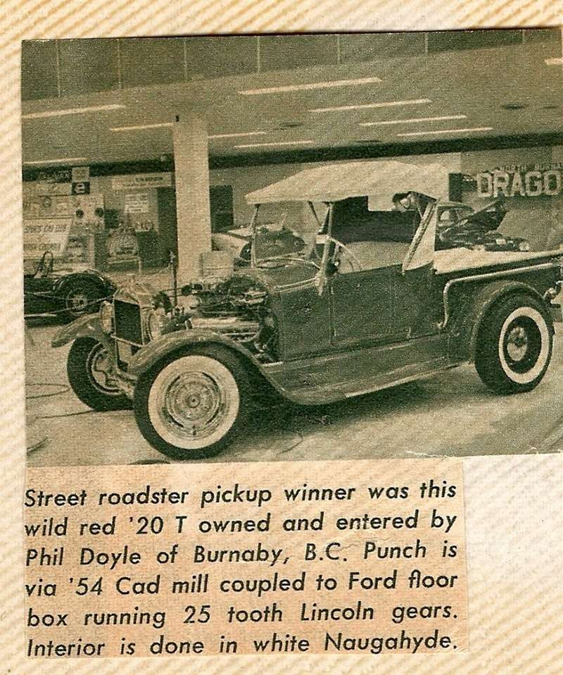 Ford T hot rod (1908 - 1927) - T rod - Page 7 19704110
