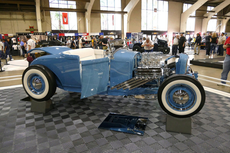 1931 Ford Model A Roadster - Blue Bayou - Chuck Spencer 24138110