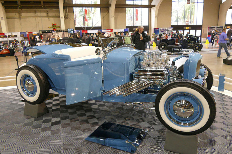 1931 Ford Model A Roadster - Blue Bayou - Chuck Spencer 24139711