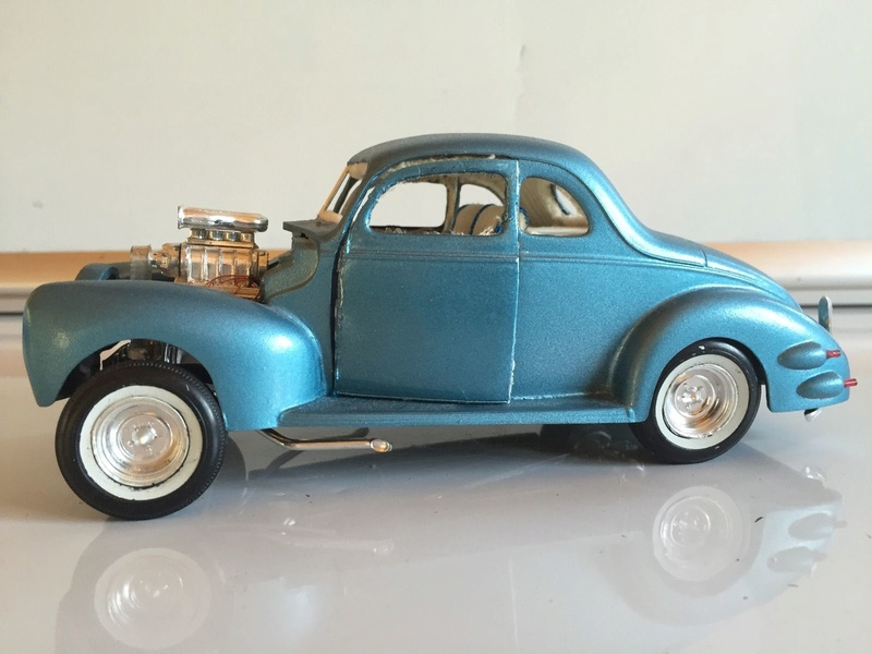 Vintage built automobile model kit survivor - Hot rod et Custom car maquettes montées anciennes - Page 6 243
