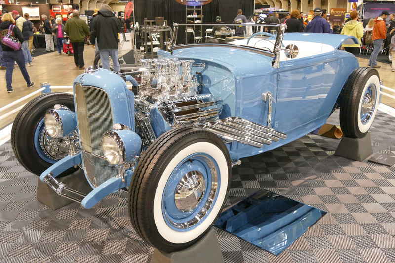 1931 Ford Model A Roadster - Blue Bayou - Chuck Spencer 24471010
