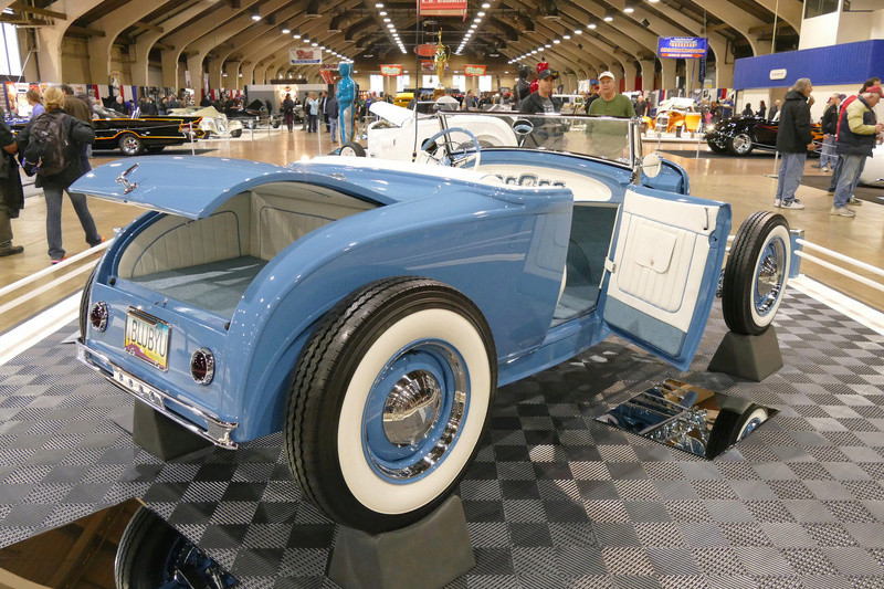 1931 Ford Model A Roadster - Blue Bayou - Chuck Spencer 24648710