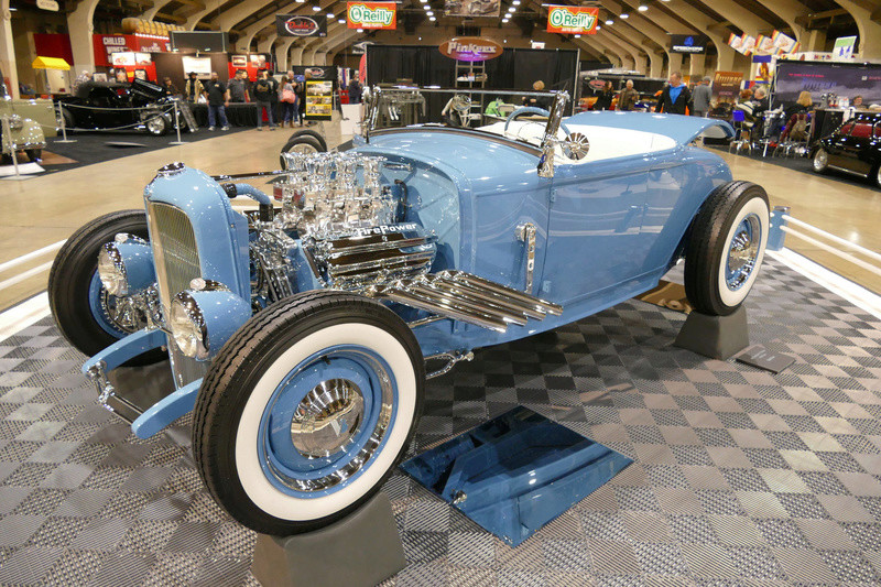 1931 Ford Model A Roadster - Blue Bayou - Chuck Spencer 24672910