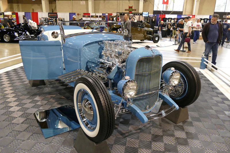 1931 Ford Model A Roadster - Blue Bayou - Chuck Spencer 24766211