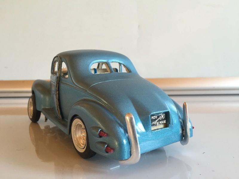 Vintage built automobile model kit survivor - Hot rod et Custom car maquettes montées anciennes - Page 6 341