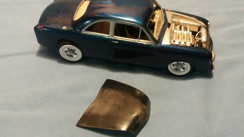 Vintage built automobile model kit survivor - Hot rod et Custom car maquettes montées anciennes - Page 6 443