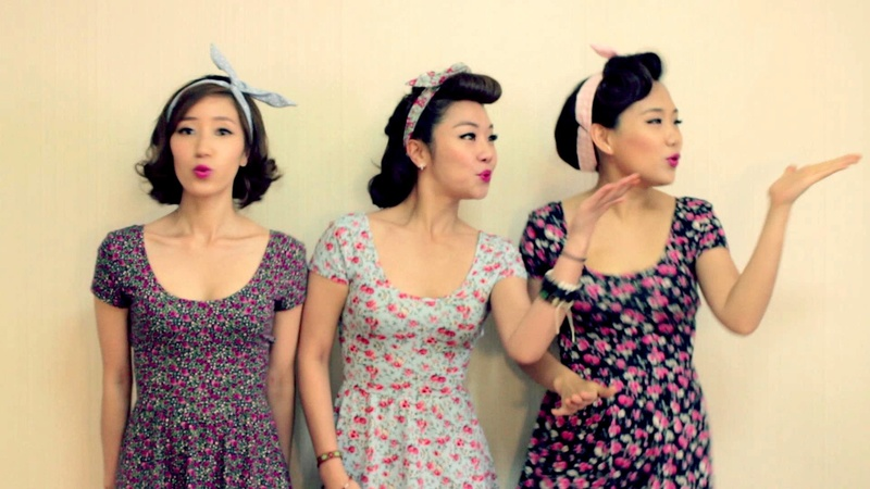 The barberettes - South Korean doo wop girls group Maxres10