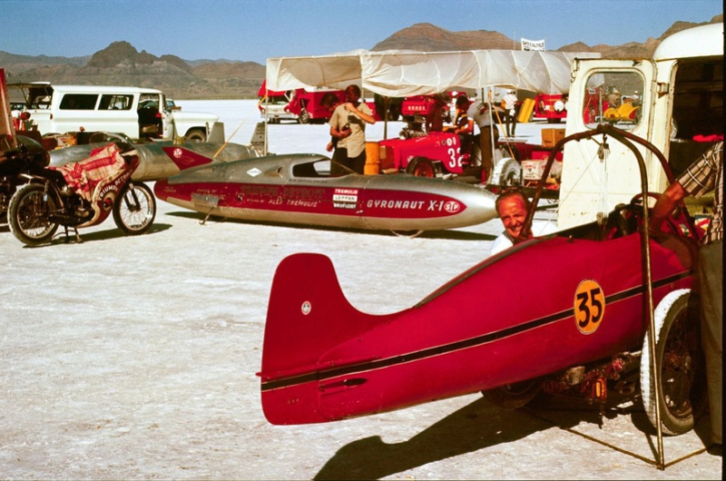 August 1966  Salt flat speed trials Upload12