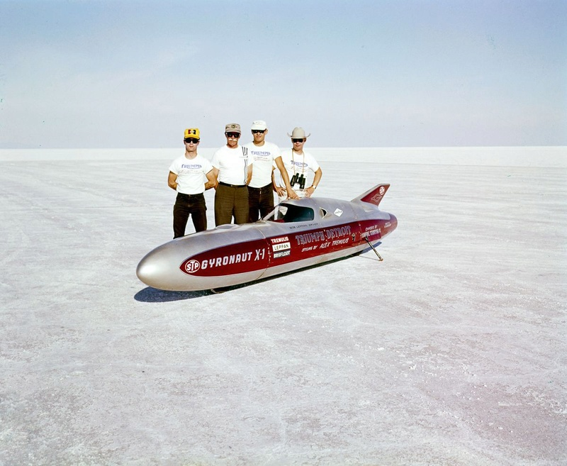 August 1966  Salt flat speed trials Upload14