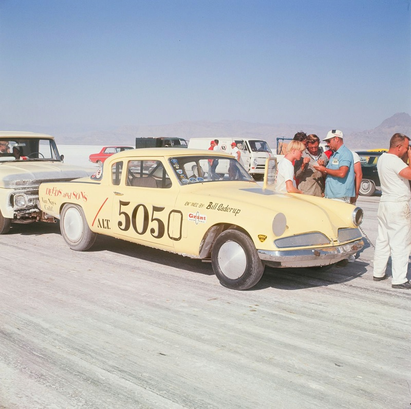 August 1966  Salt flat speed trials Upload19