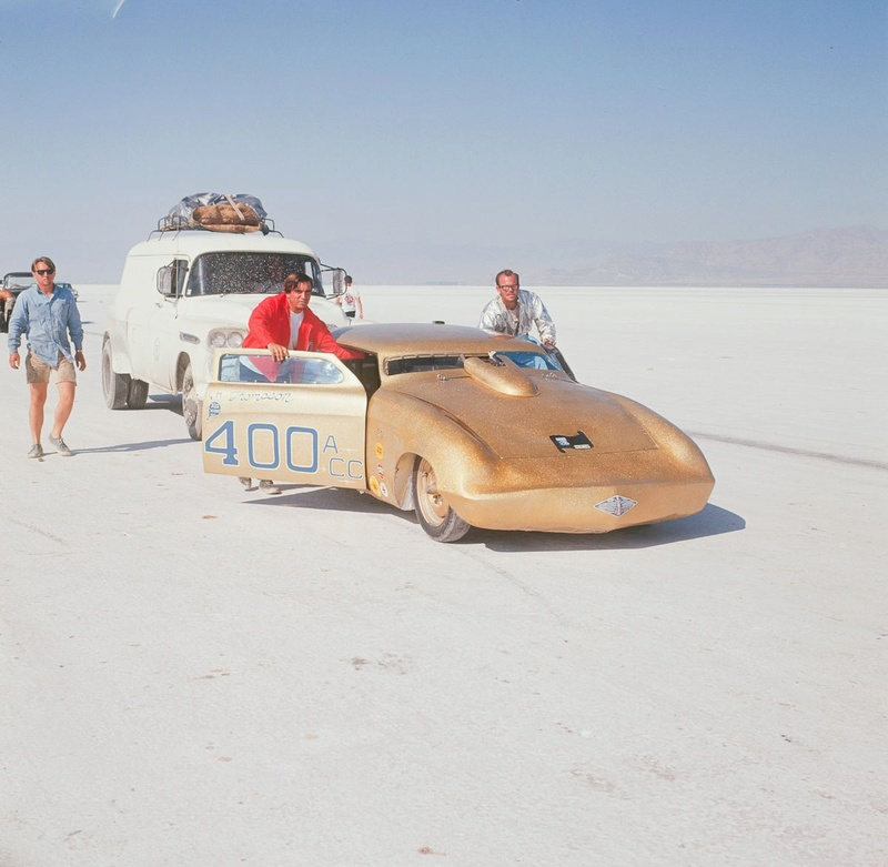 August 1966  Salt flat speed trials Upload20