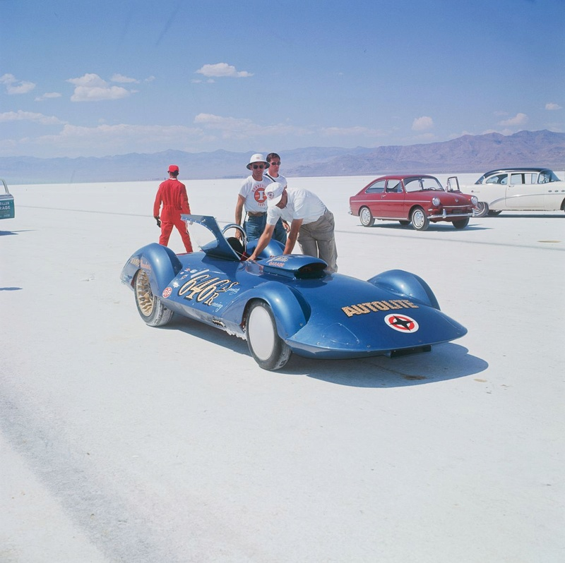 August 1966  Salt flat speed trials Upload21
