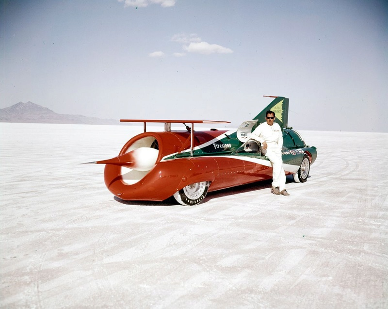 August 1966  Salt flat speed trials Upload24