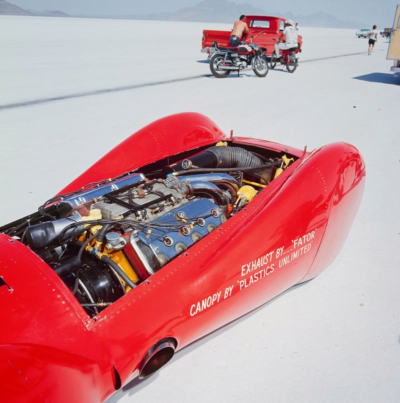 August 1966  Salt flat speed trials Upload26