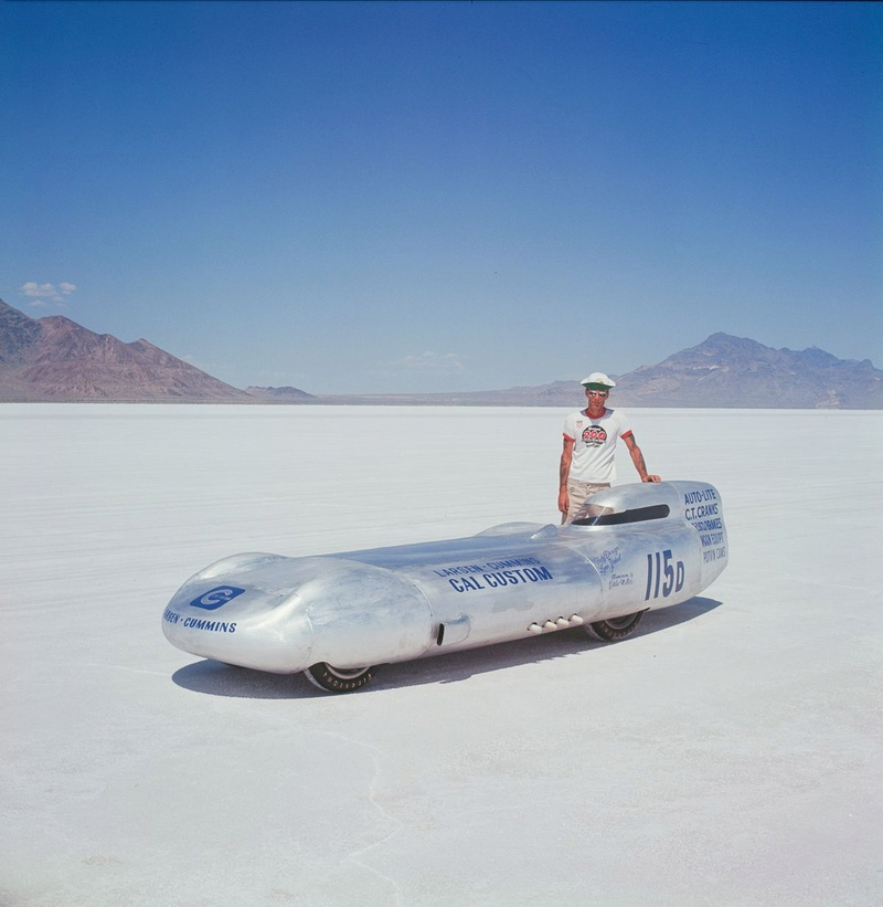 August 1966  Salt flat speed trials Upload28