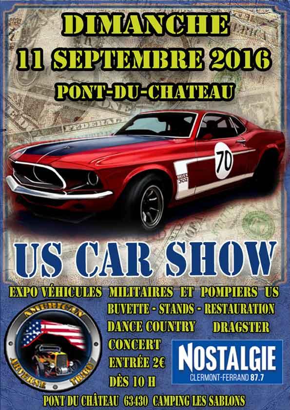 US car Show Affich10