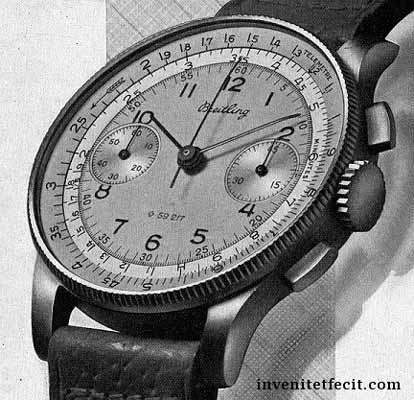 Breitling et le CHRONOMAT ref769 Chrono10