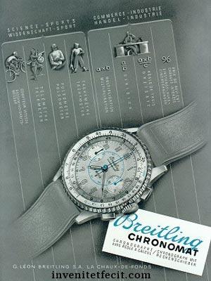 Breitling et le CHRONOMAT ref769 Chrono12