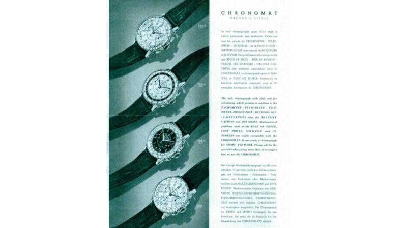 Breitling et le CHRONOMAT ref769 Chrono14