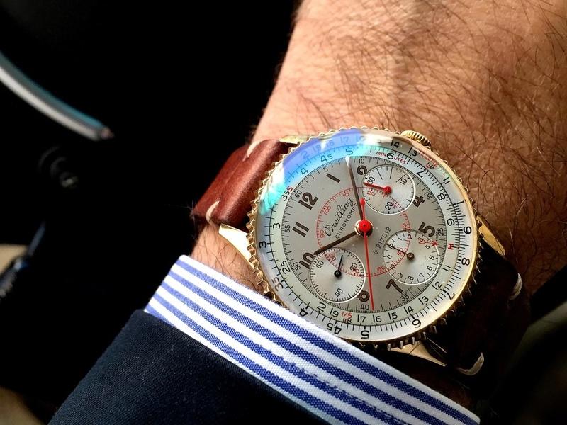 Breitling et le CHRONOMAT ref769 Eyofpq10