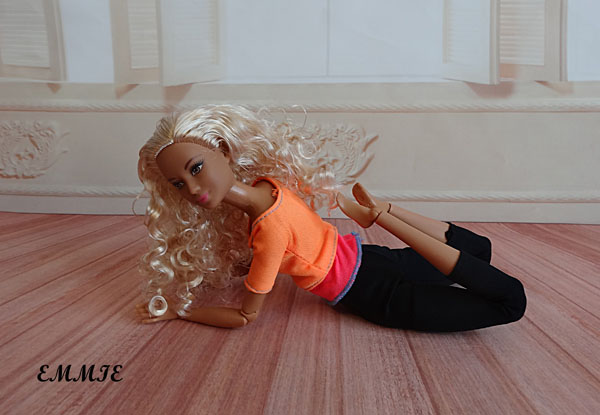 Barbie Fitness orange  1014