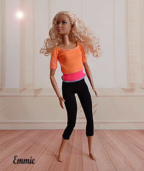 Barbie Fitness orange  116
