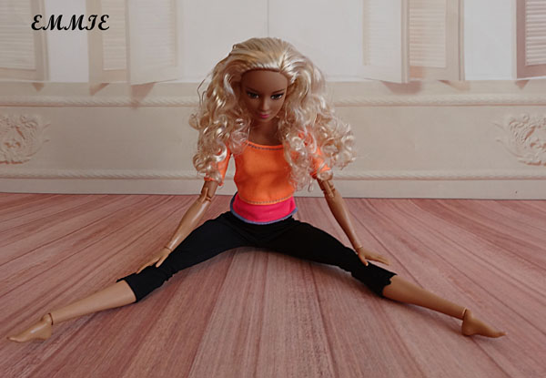 Barbie Fitness orange  1712