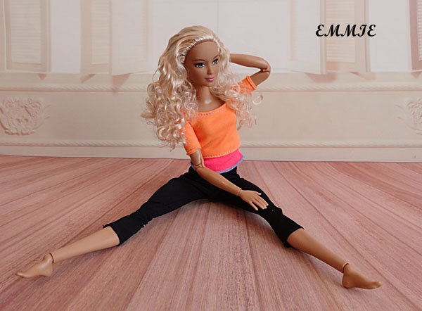 Barbie Fitness orange  1812