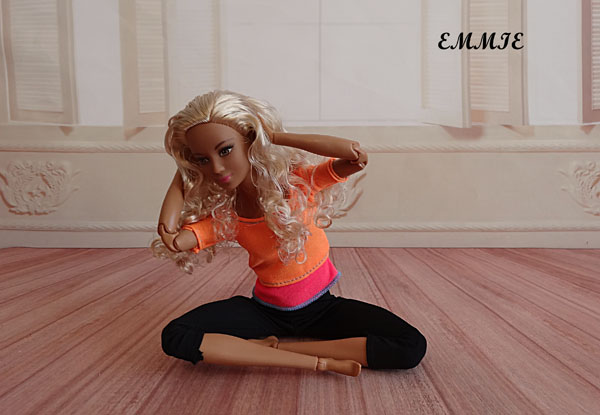 Barbie Fitness orange  1912