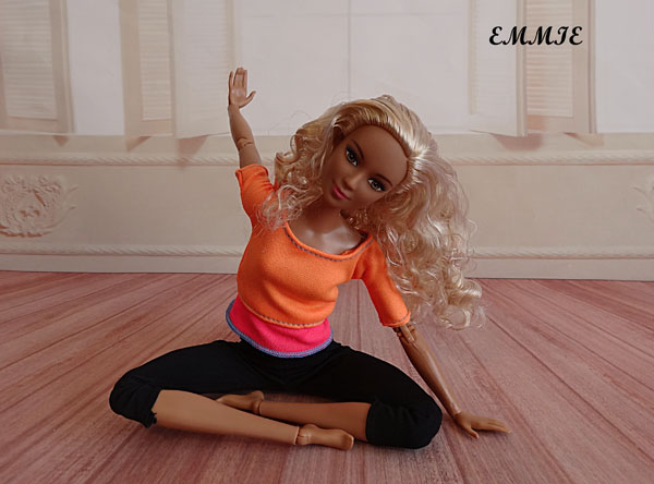 Barbie Fitness orange  2012