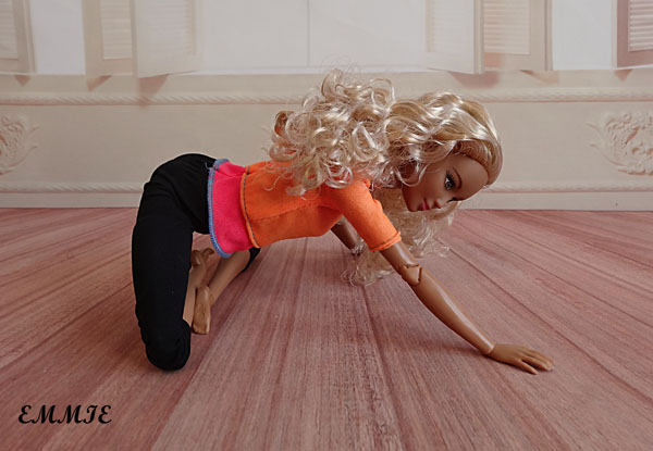 Barbie Fitness orange  2112