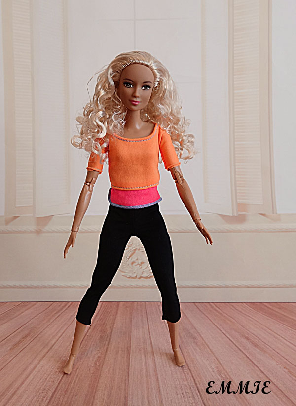 Barbie Fitness orange  218