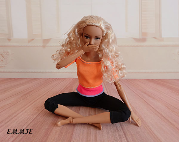 Barbie Fitness orange  2312