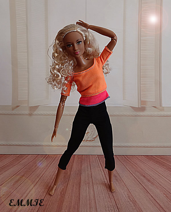 Barbie Fitness orange  319