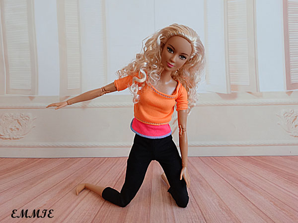 Barbie Fitness orange  517