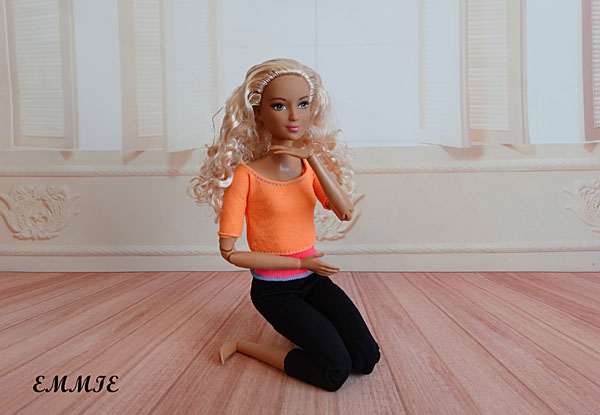 Barbie Fitness orange  617