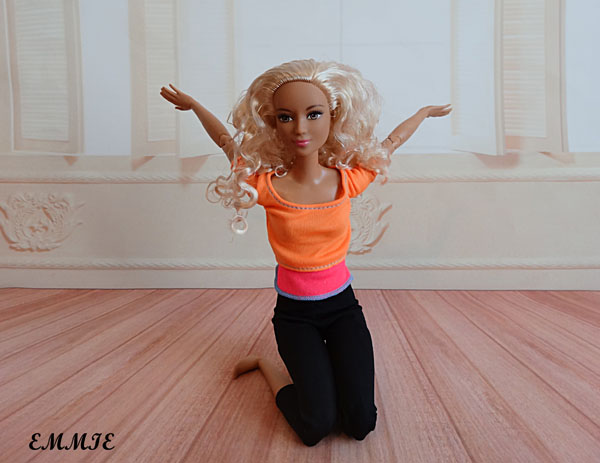Barbie Fitness orange  718