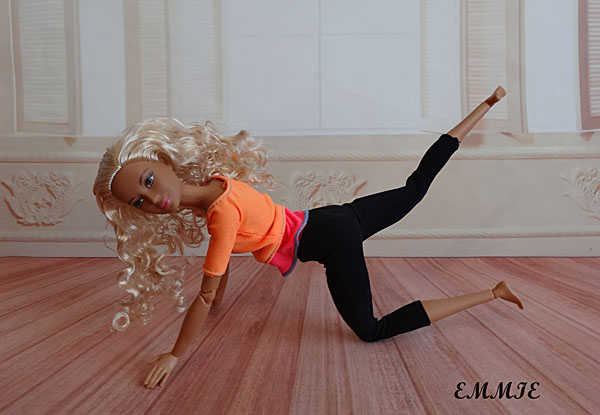 Barbie Fitness orange  815