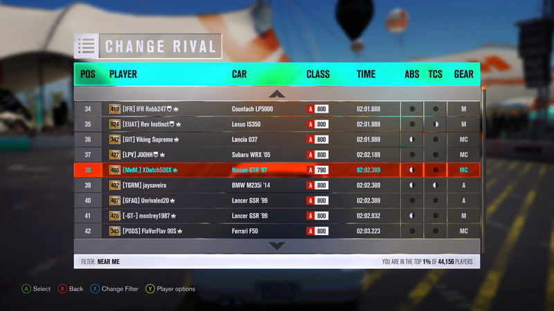 FH3 MNM Leaderboard Attacks #1 (Results Up!) 610