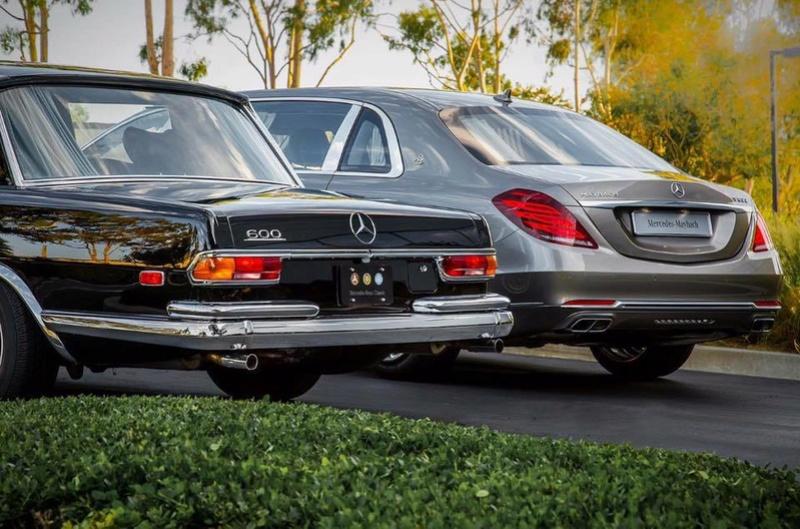 Une 600 et une Maybach Une_6011